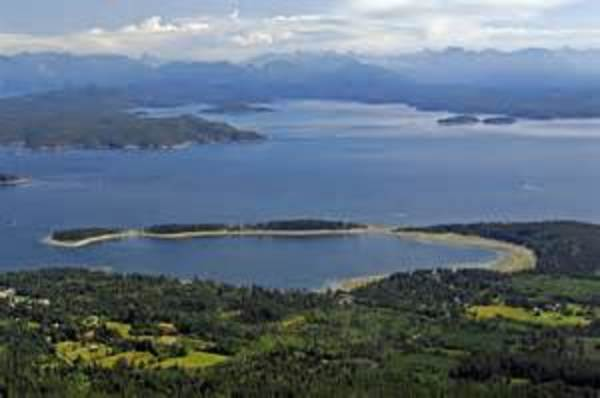 Quadra Island near Campbell RIver