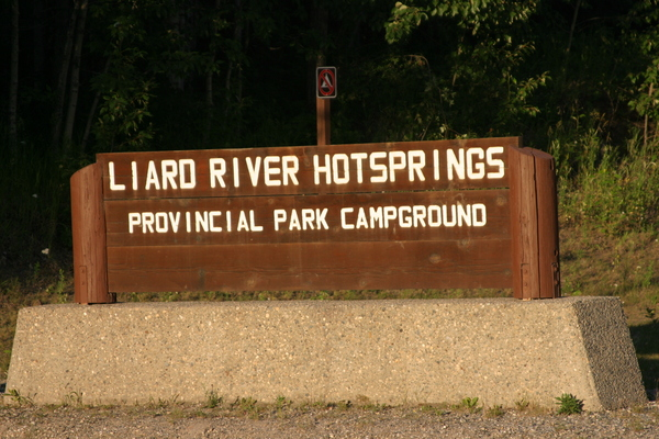 Liard River Hot Springs Provincial Park BC