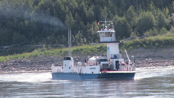 Fort Simpson NWT Mackenzie RIver Cruise