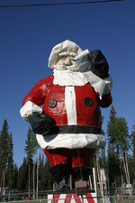 North Pole Alaska Santa