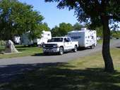 Claresholm camping at Centennial Park