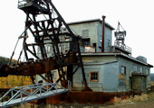 Chicken Alaska Gold Camp Dredge