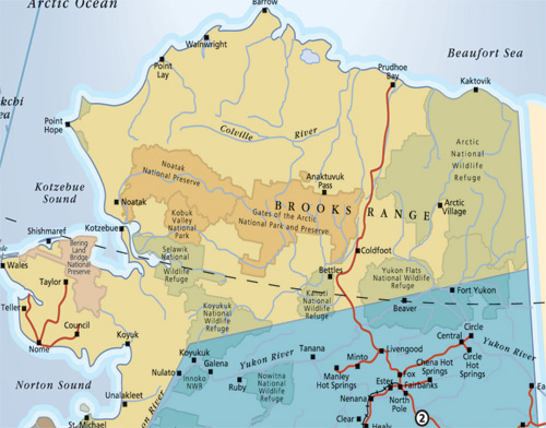 Similiar Map Of Canada And Alaska And Arctic Circle Keywords